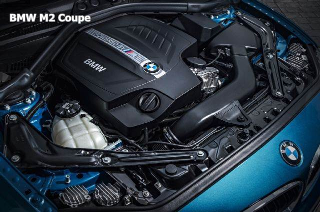2016 BMW M2 Coupe Review Engine