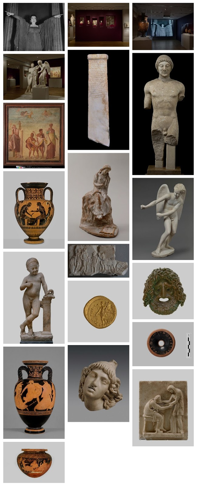 'A World of Emotions: Ancient Greece, 700 BC – 200 AD' at the Onassis Cultural Center, NY