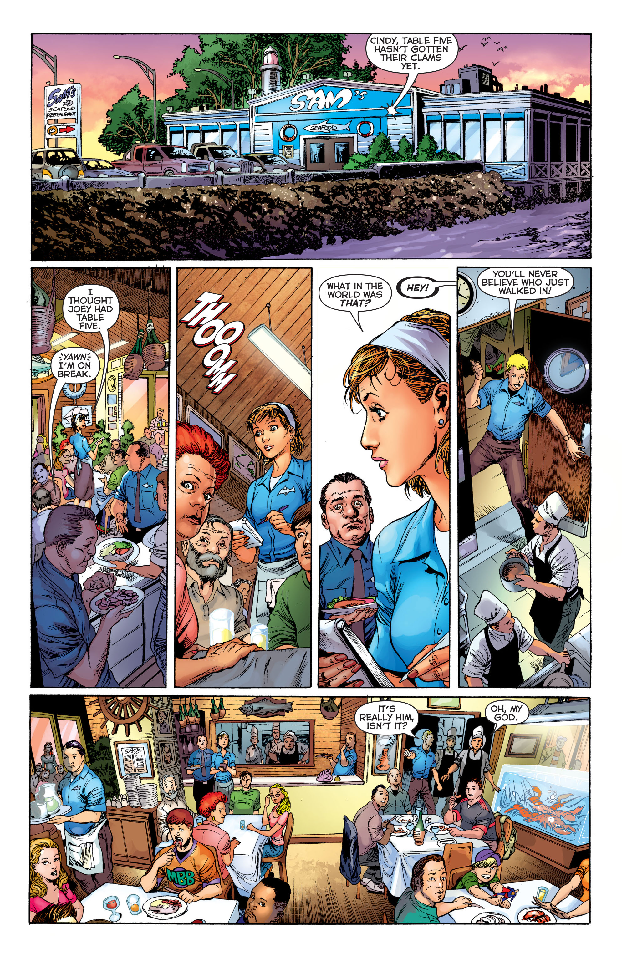Read online Aquaman (2011) comic -  Issue #1 - 12