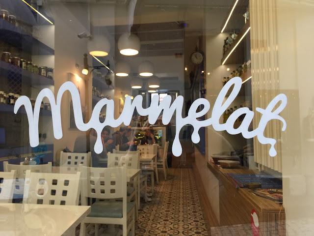 Marmelat breakfast Galata