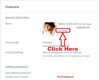 how to delete youtube channel without deleting google account