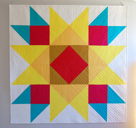 Union Square Big Block Quilt-Along Designed by Erika Mulvenna at We All Sew
