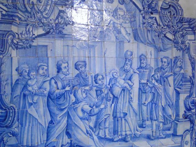 Azulejos da Capela de Santana