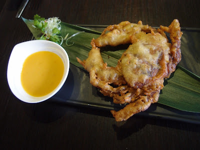 Soft Shell Crab with Salted Egg Dip