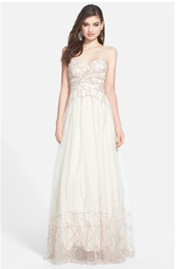 Nordstrom Precious Thoughts Prom Dresses | wedding and prom fashion