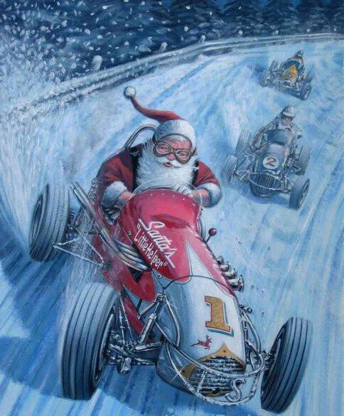 La Pagina De Charly A Todos Los Amantes De Los Autos Feliz Navidad