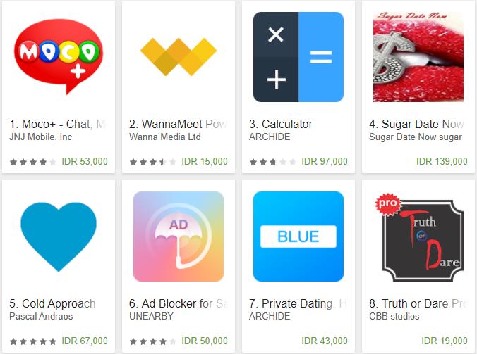 Download 10 Aplikasi Dating Berbayar Terpanas Di Google Play Store Zone Blog