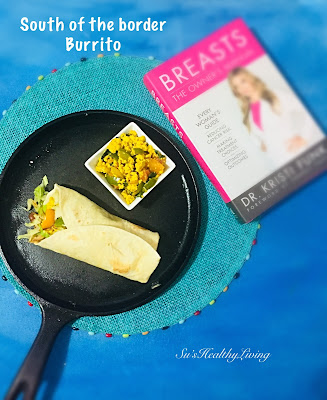 Permalink to South Of The Edge Burrito; Meatless Monday Vegan Recipe As Well As A Giveaway!!