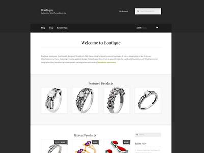 Boutique, theme gratuito de Wordpress para eCommerce