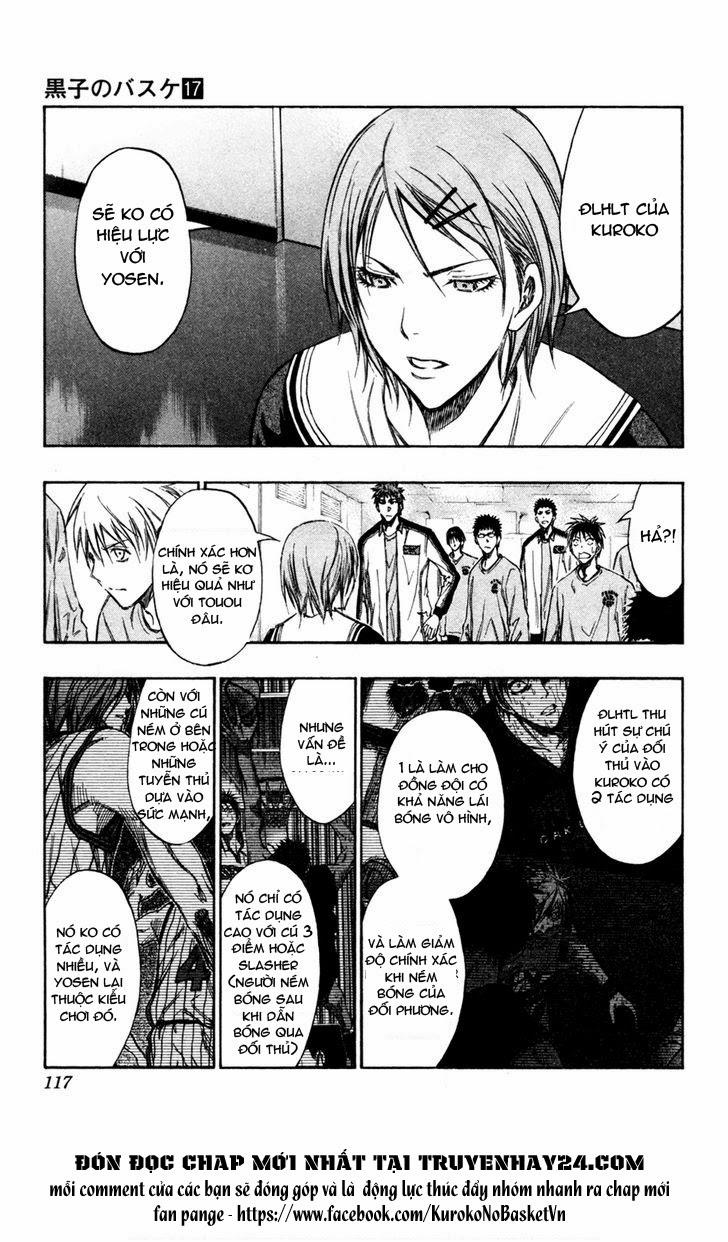 Kuroko No Basket chap 150 trang 11