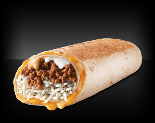 Quesarito: A Quesadilla and Burrito Mash-Up Only at Taco Bell