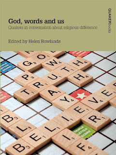 """An image of the cover of the book, """"God, Words and Us"""""""