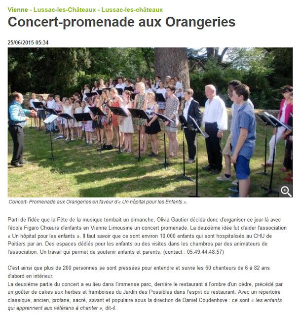 http://www.lanouvellerepublique.fr/Vienne/Communes/Lussac-les-Ch%C3%A2teaux/n/Contenus/Articles/2015/06/25/Concert-promenade-aux-Orangeries-2379645#