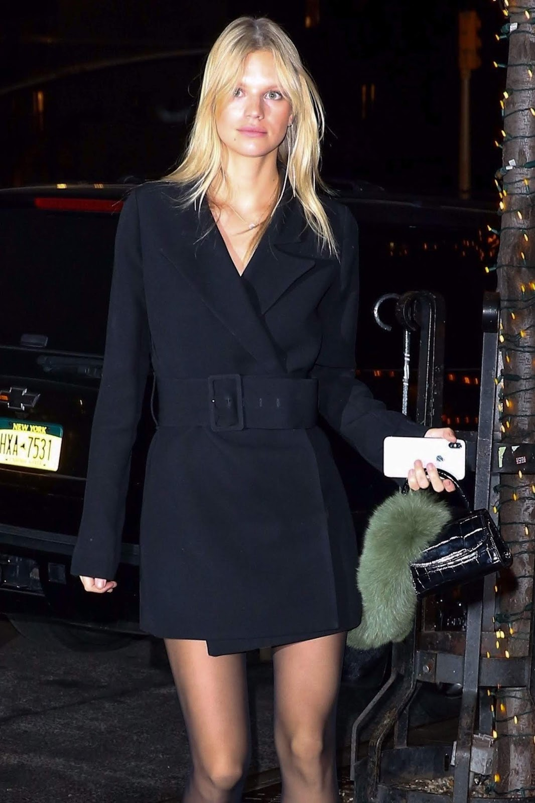 Nadine Leopold - Out in New York - 02/05/2019