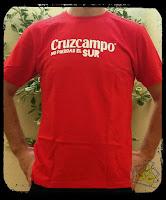Camiseta cerveza Cruzcampo
