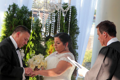 "Timothy ""Chio in the Morning"" Acosta re-married wife Shawn with Celebrity Wedding Officiant Mike Jerrick"