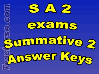 S A 2  exams Summative 2  Answer Keys