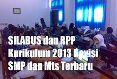 Kumpulan RPP dan Silabus TA 2018/2019 Kurikulum 2013 Revisi untuk SMP format doc