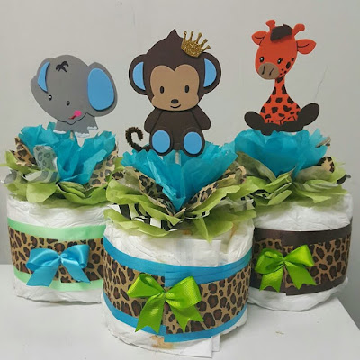Adriana S Creations Baby Shower Theme Centerpieces