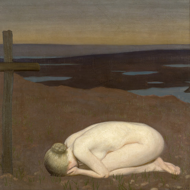 Sir George Clausen - 1916 - Youth Mourning