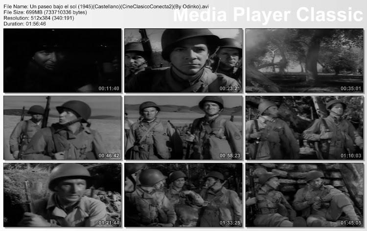 Un paseo bajo el sol 1945 | Imágenes de la película | secuencias