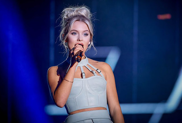 Zara Larsson (Photo: BBC)
