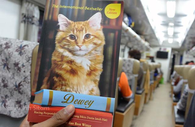 Ditemani Buku Dewey saat perjalanan ke Malang