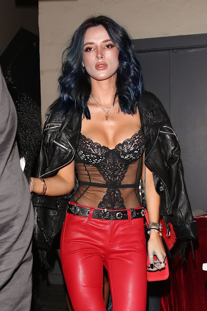 Bella Thorne at Rae Sremmurd's Birthday Party in Los Angeles