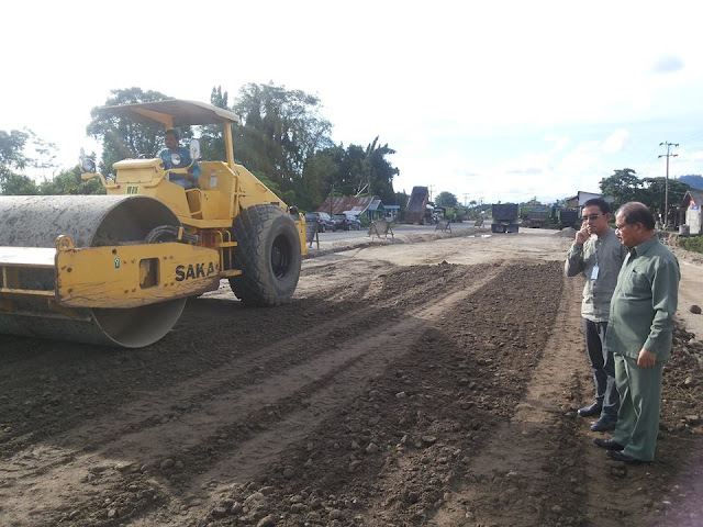 Bupati Ali Mukhni Berharap Jalan By Pass Fly Over Pembangunannya Bisa Dituntaskan Tahun Ini