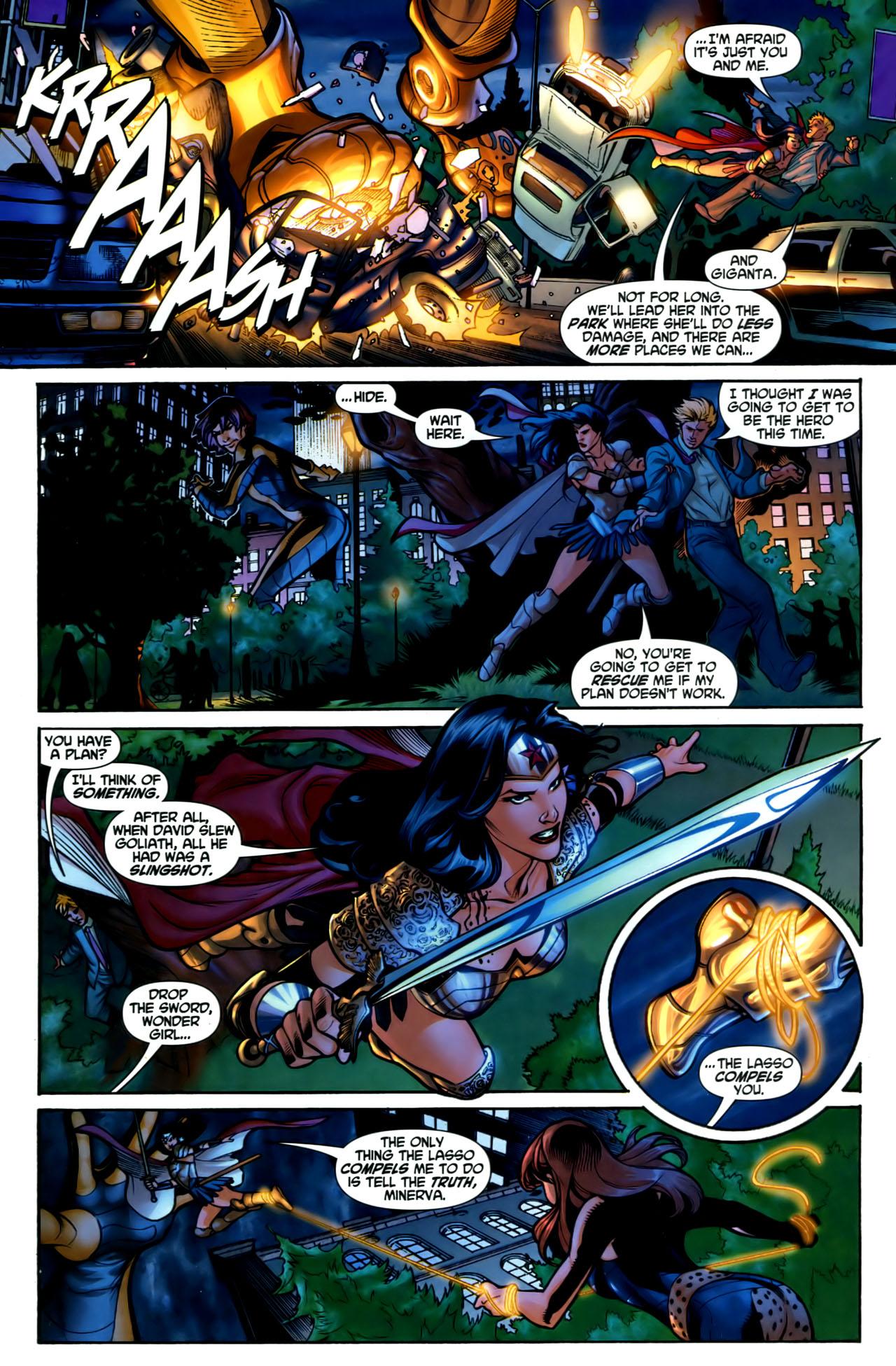 Read online Wonder Woman (2006) comic -  Issue #1 - 15