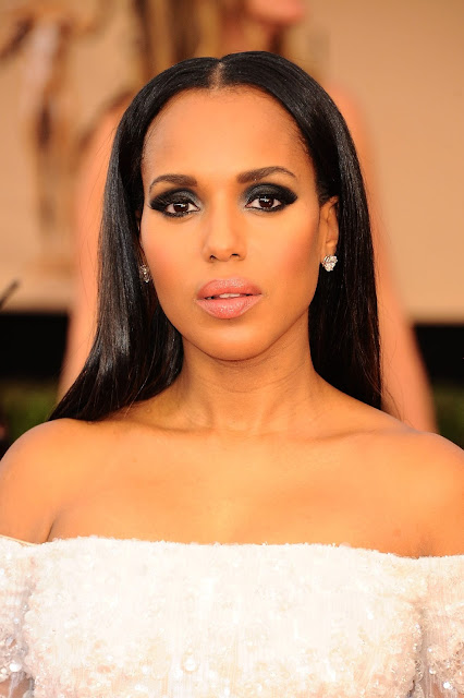 Kerry Washington in Platinum at the 23rd Annual Screen Actors Guild Awards_Instar Images worldwide photo rights