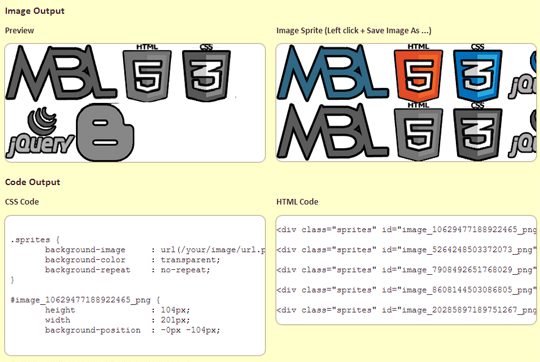 How To Combine Images Into CSS Sprites To Increase Blog ...