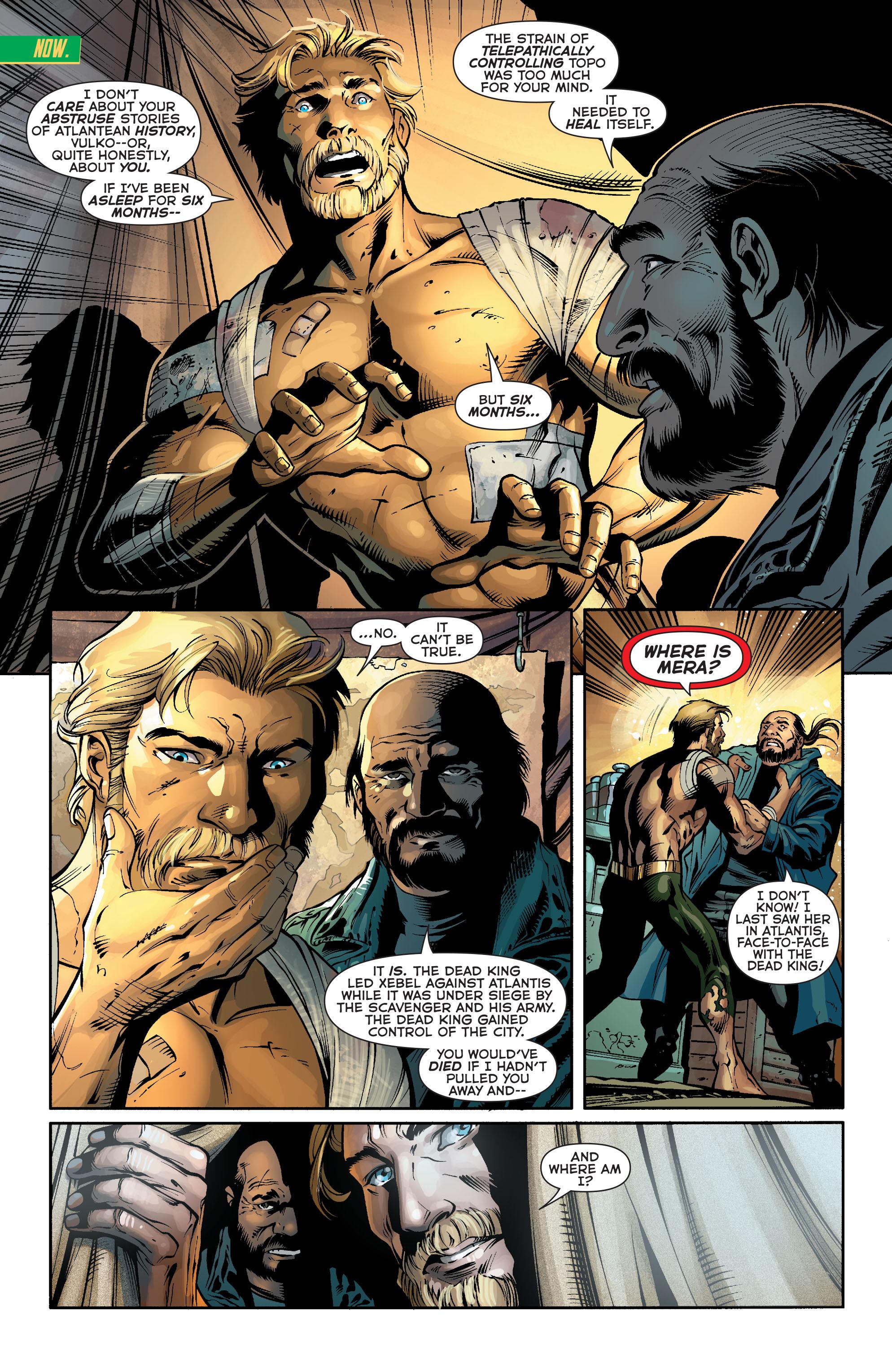Read online Aquaman (2011) comic -  Issue #24 - 4