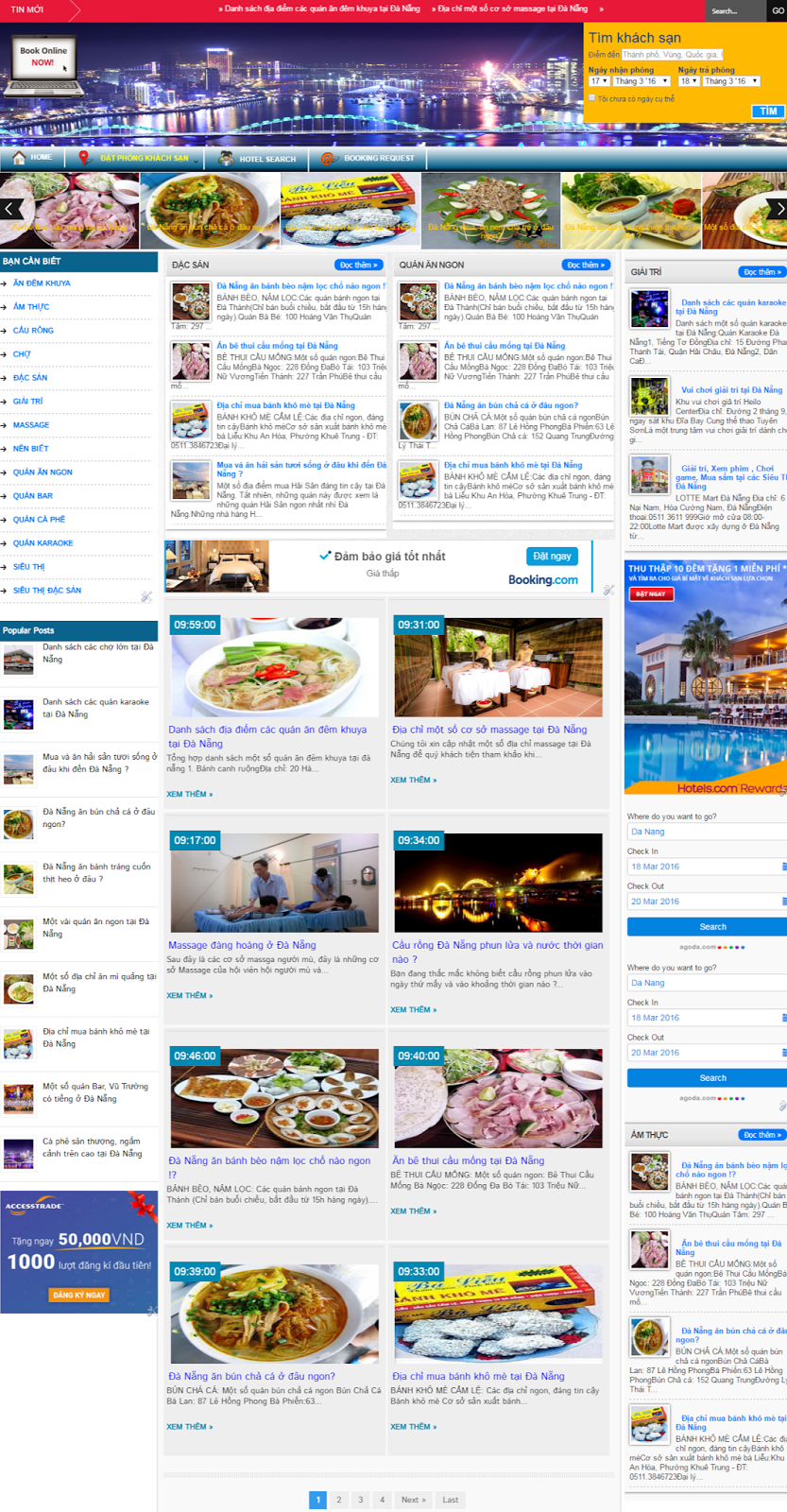 theme blog responsive tren moi giao dien