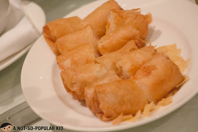 Deep-fried Vegetable Spring Roll