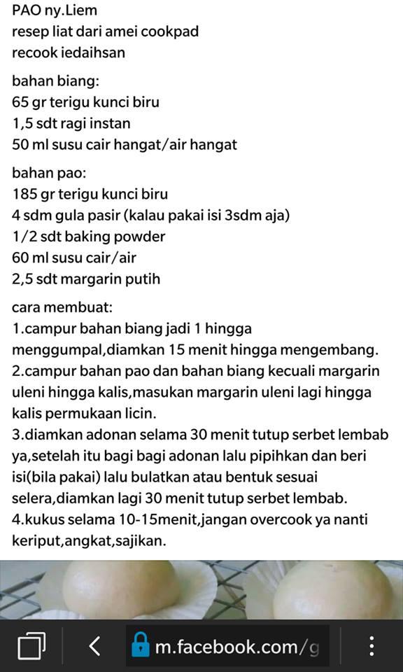 Catatan Kulinerku Bakpao Ny Liem