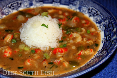 Crawfish Etouffee and Cookbook Giveaway!