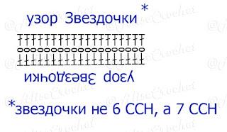 схема бретелей крючком для купальника