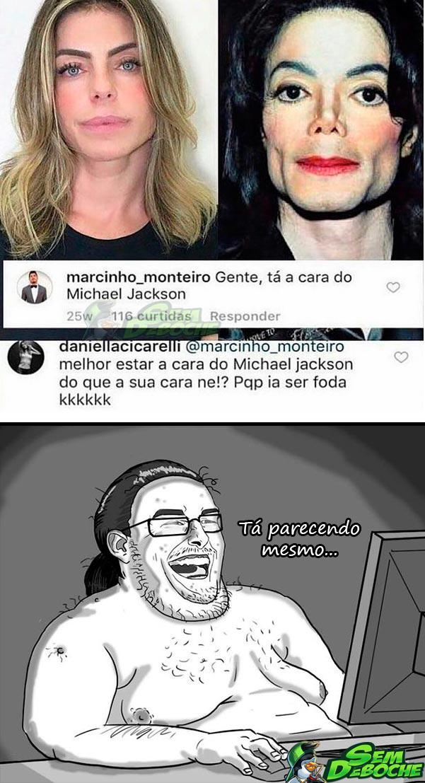 DIZEM QUE ME PAREÇO COM...