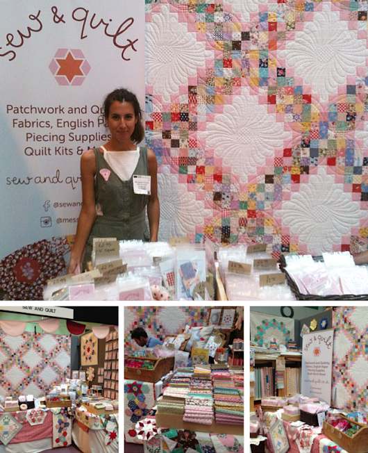 Sew and Quilt at Festival Of Quilts 2015