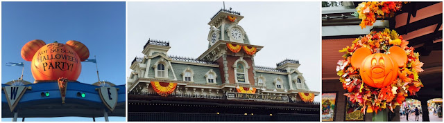 Disneyworld decorated for Halloween