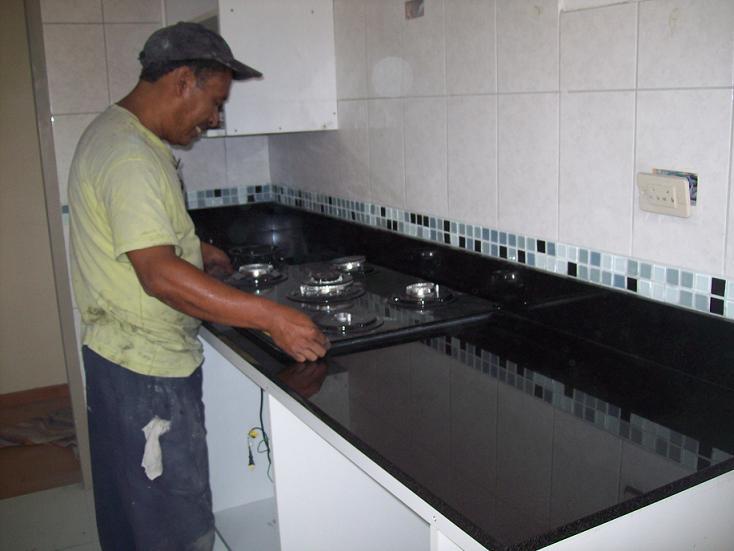 Cocinas empotradas marmol granito lima for Cocina a gas y electrica