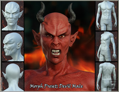 EJ Demon Races Creator and Morphs for Genesis 8 Female and Male