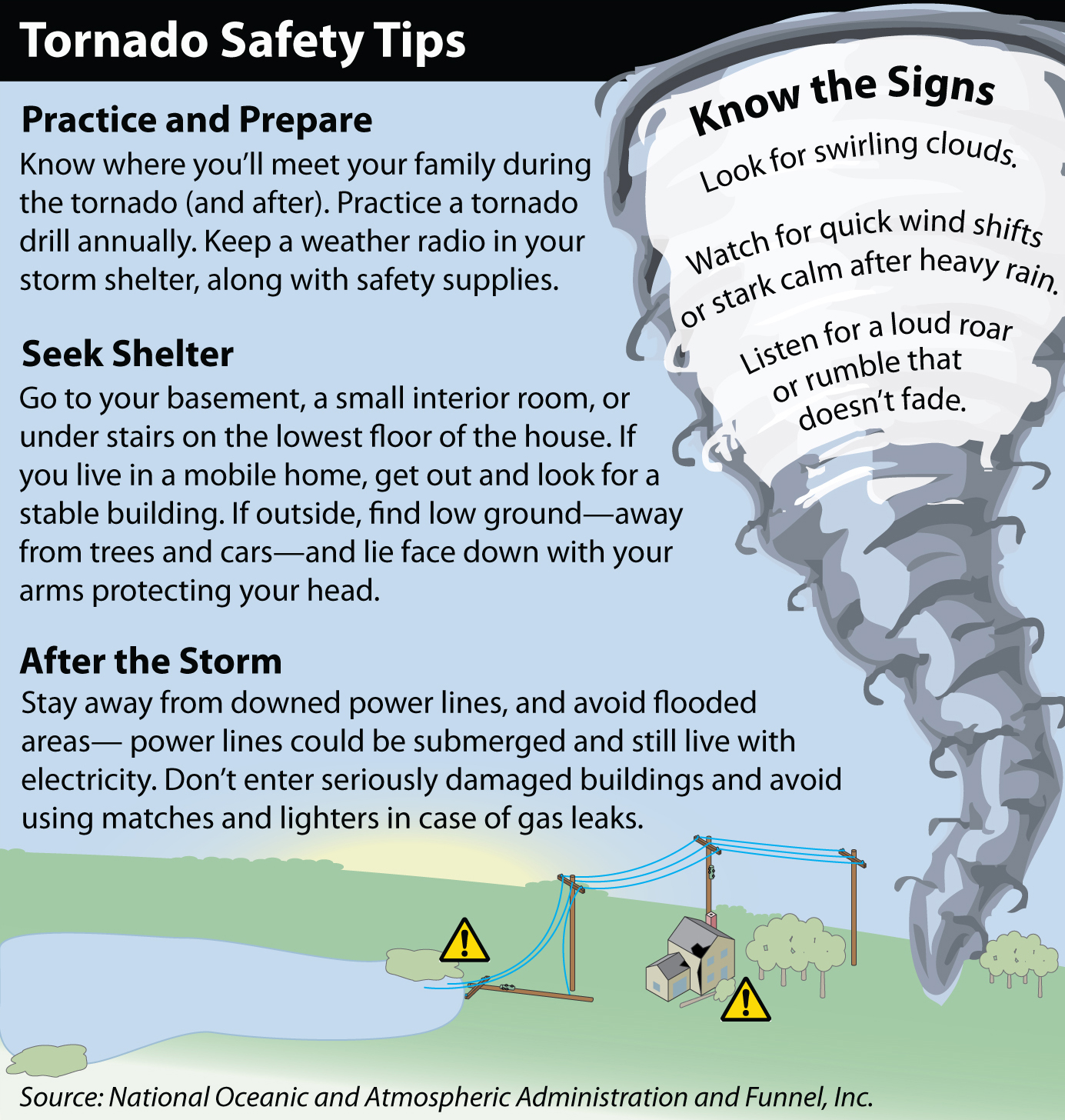 Tornado Safety Tips For Kids