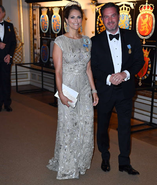King Carl Gustaf , Queen Silvia, Queen Mathilde, King Flippe, Crown Princess Victoria, Prince Daniel, Princess Madeleine and Christopher O'Neill, Former Spanish Queen Sofia and King Juan Carlos, Crown Prince Frederik and Crown Princess Mary of Denmark, Queen Margrethe of Denmark, Queen Beatrix of the Netherlands, Princess Takamado of Japan, Princess Märtha Louise of Norway and Ari Behn, Prince Albert