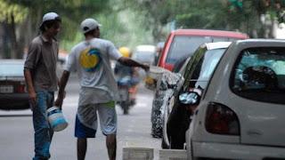 +Persecución - trabajo: La Legislatura porteña prohibió la actividad de trapitos y limpiavidrios