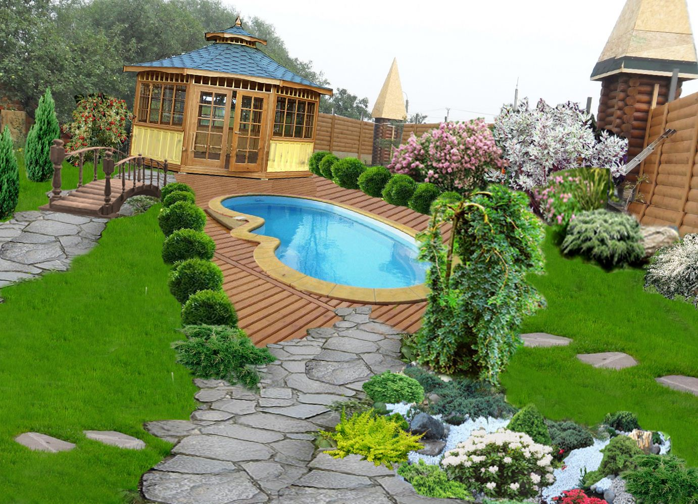 Amazing Backyard Landscaping Designs Ideas