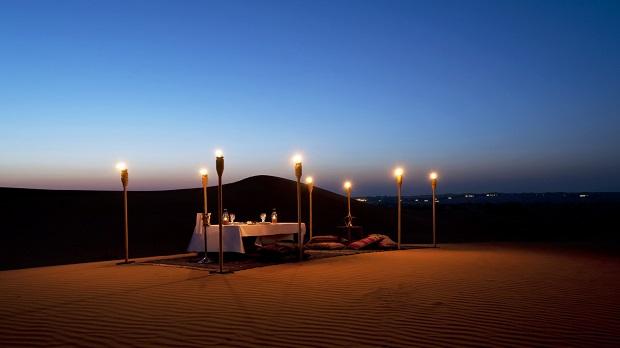 El desierto será el telón de fondo de vuestro enlace en Al Maha