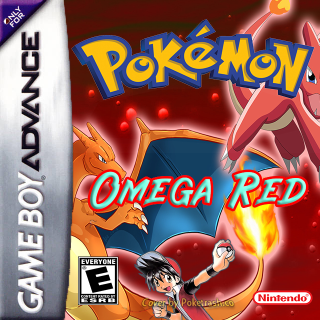 Pokemon Omega Red gba