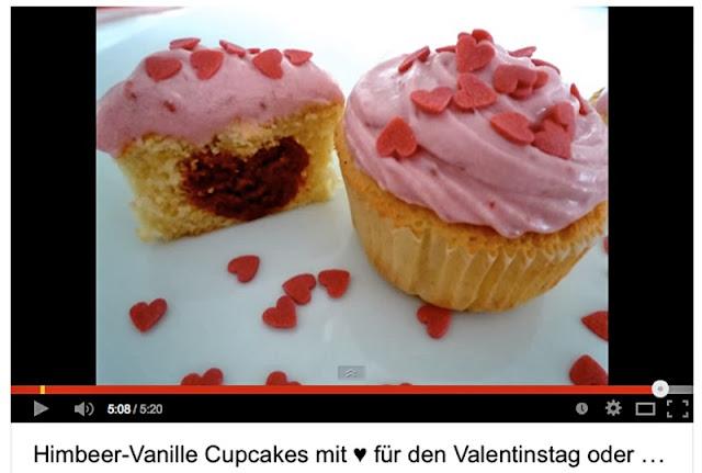Cupcakes Valentinstag
